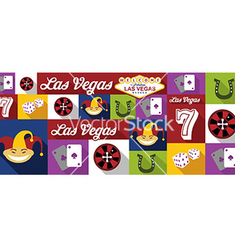 Free travel and tourism icons las vegas vector - vector #205733 gratis