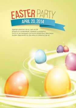 Easter Poster - Kostenloses vector #205743