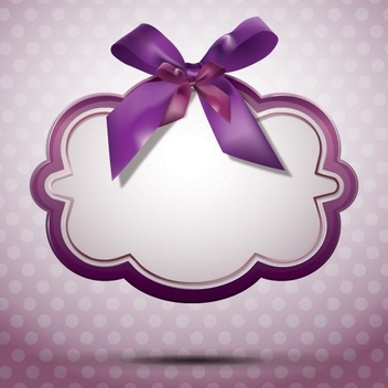 Ribbon Message - vector #205843 gratis