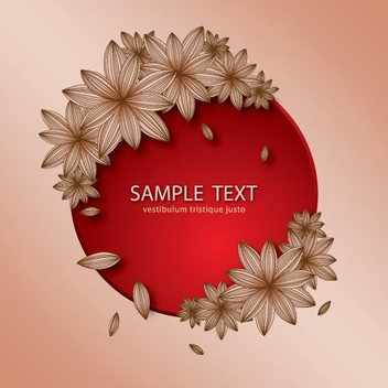 Floral Banner - Kostenloses vector #205903