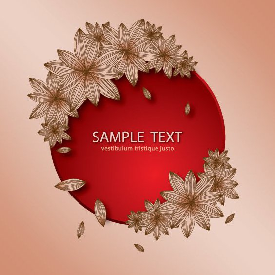 Floral Banner - Free vector #205903