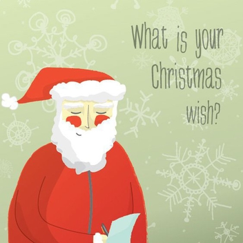 Christmas Wish List - Kostenloses vector #206043