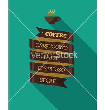 Free presentation menu coffee vector - vector #206323 gratis