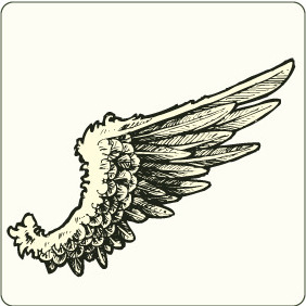 Wings 9 - vector #206673 gratis