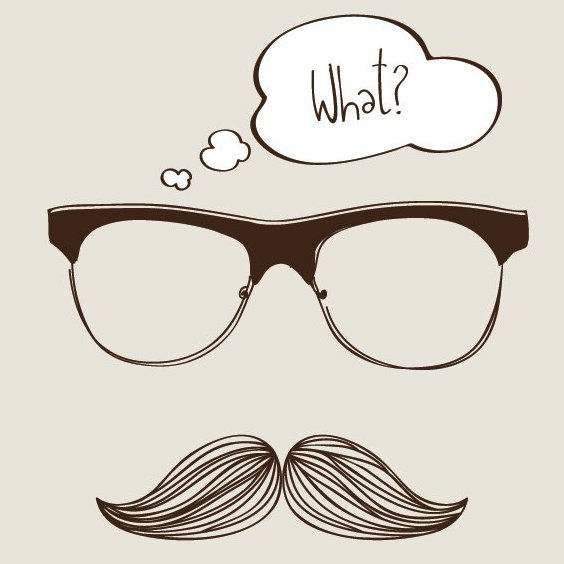 My New Moustache - Free vector #206773