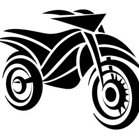 Motorcycle Vector Graphics - vector gratuit #206853