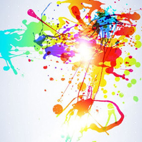 Artistic Mess Graphic - Free vector #206923