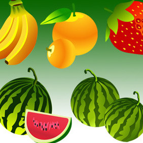 Free Vector Fruit - бесплатный vector #206973