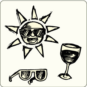 Summer Elements 14 - vector gratuit #207003