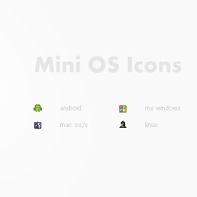 OS Icons - Free vector #207153