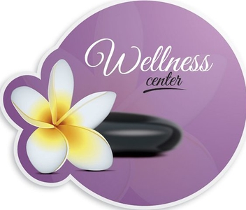 Wellness Center - vector gratuit #207223