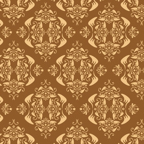 Vintage Seamless Background - Free vector #207463