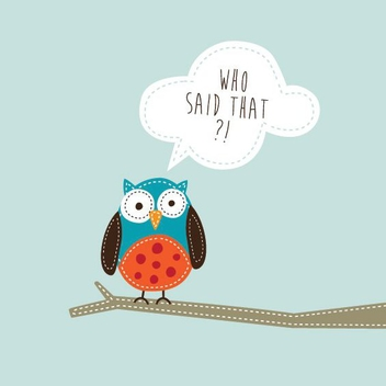 Cute Owl - Free vector #207473