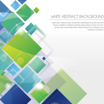 White Abstract Background - vector gratuit #207853
