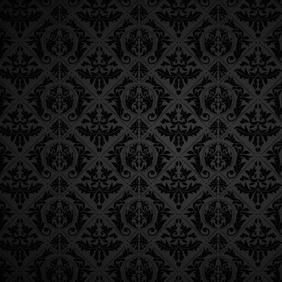 Black Vintage Ornaments - vector gratuit #208013
