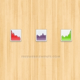Vector Chart Icons - Kostenloses vector #208133