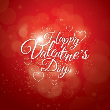 Happy Valentines Day Everyone - vector gratuit #208173