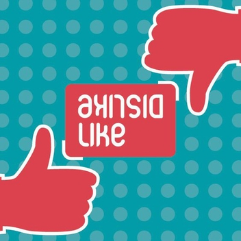 Like Dislike - vector #208353 gratis