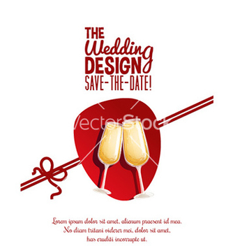 Free wedding day design vector - Free vector #208443