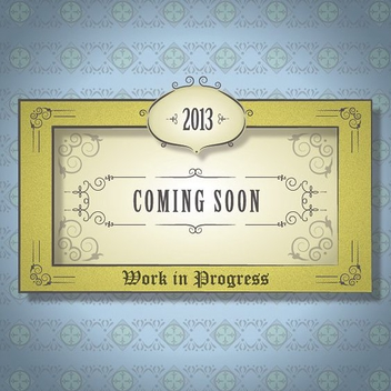 Coming Soon - Free vector #208763