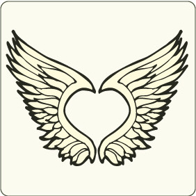 Wings 5 - vector #208823 gratis