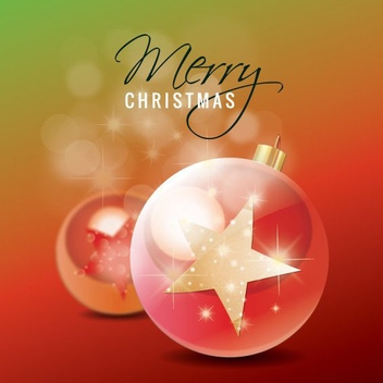 Christmas Star Ornaments - vector gratuit #208853