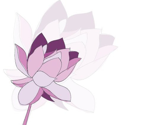 Purple Flower - Free vector #209333