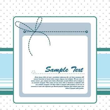 Blue Ribbon - vector #210283 gratis
