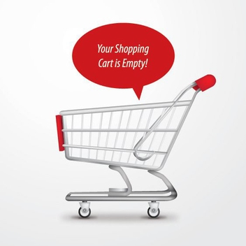 Shopping Cart - vector gratuit #210483