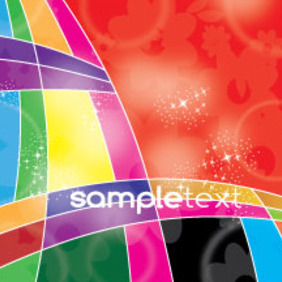 Colored To Black Free Floral Vector - vector gratuit #210493
