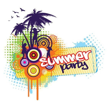 Summer Party - vector gratuit #210563