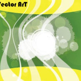 Yellow Green Abstract Transprancy Free Art - Free vector #210843