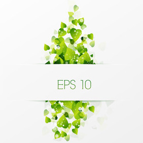 Free Vector Nature Background - Kostenloses vector #210863