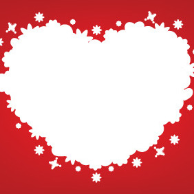 One Big Heart - vector #210973 gratis