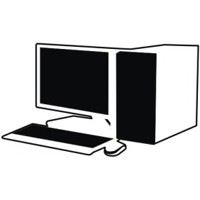 Office Computer - Free vector #211053
