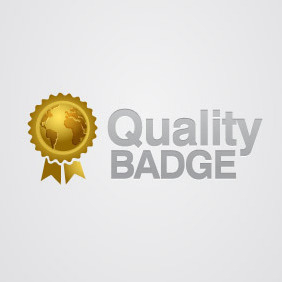 Quality Badge - Free vector #211123