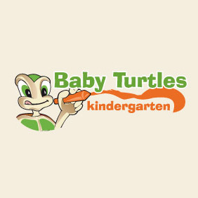 Baby Turtles Kindergarten - Free vector #211283