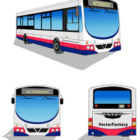 City Bus Free Vector - бесплатный vector #211463