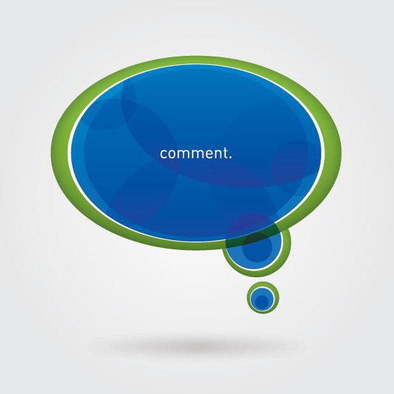 Comment - Free vector #211523