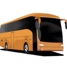 Tourism Bus Free Vector - бесплатный vector #211633