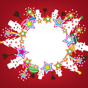 Snow Ball - Free vector #211753