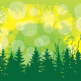 Trees Vector - Free vector #212063