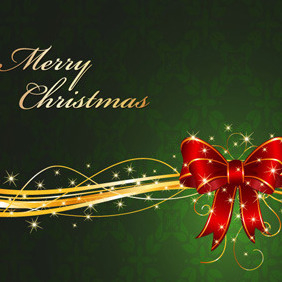 Christmas Background For Your Design - vector gratuit #212453
