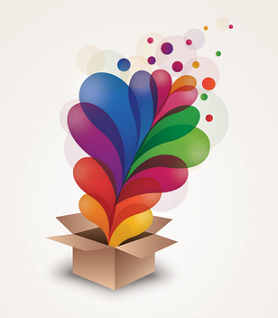 Colorful Surprise - vector gratuit #212893
