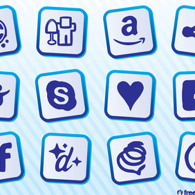 Social Sites - vector #212973 gratis