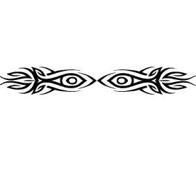 Tribal Eyes Vector VP - Kostenloses vector #213033