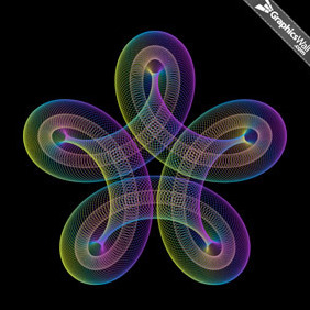 Spiro Graphic - Vector Art - Free vector #213103