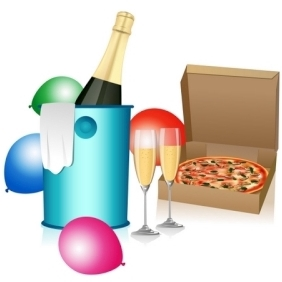 Wine House - Free vector #213313
