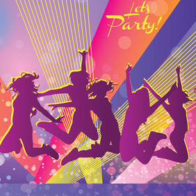 Party Graphics - Kostenloses vector #213463