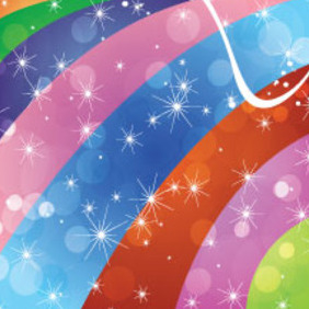 Colored Grain Stars Free Vector Design - vector #213483 gratis